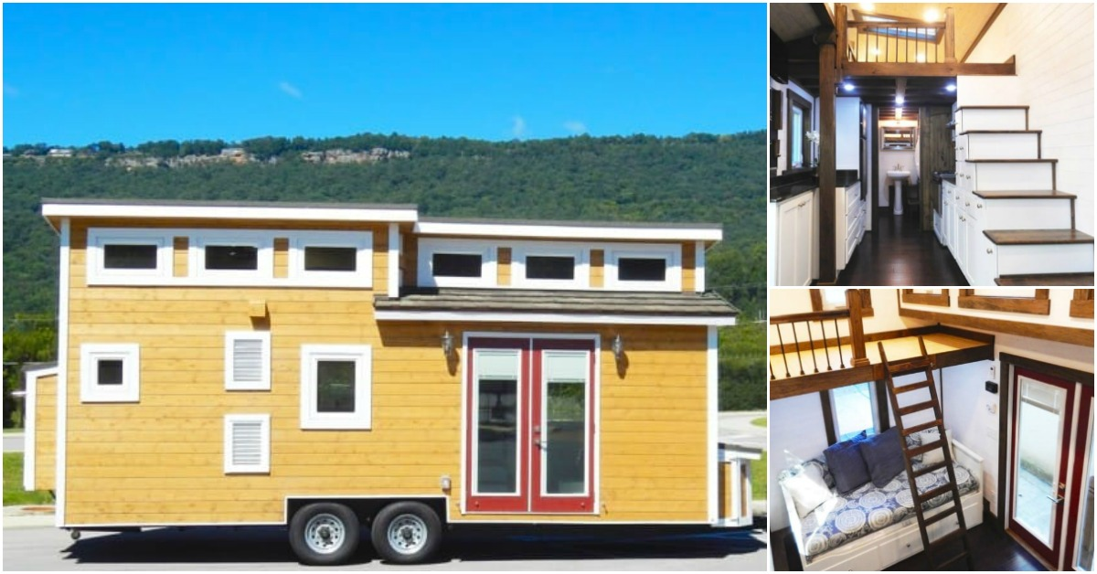This tennessee tiny house makes amazing use of space for Amazing small homes