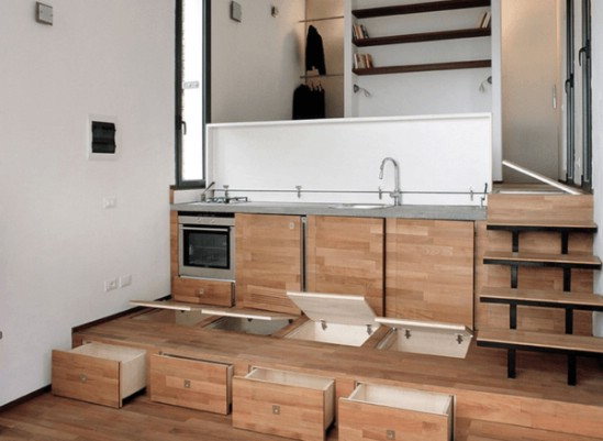 This Magical Tiny House Unites Modern Design with Gorgeous Surroundings {4}