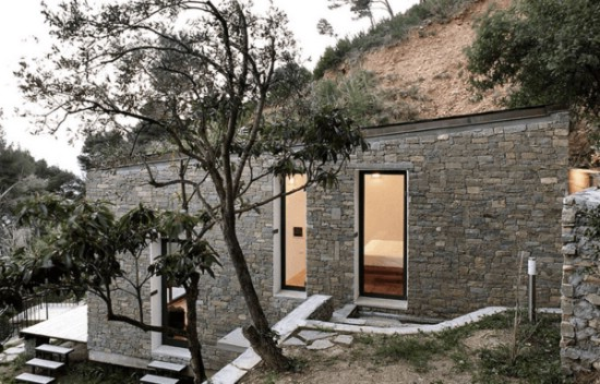 This Magical Tiny House Unites Modern Design with Gorgeous Surroundings {8}