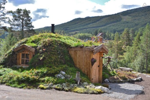 Hobbit House in Norway