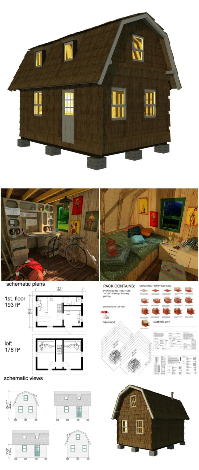Sofia tiny cottage plans