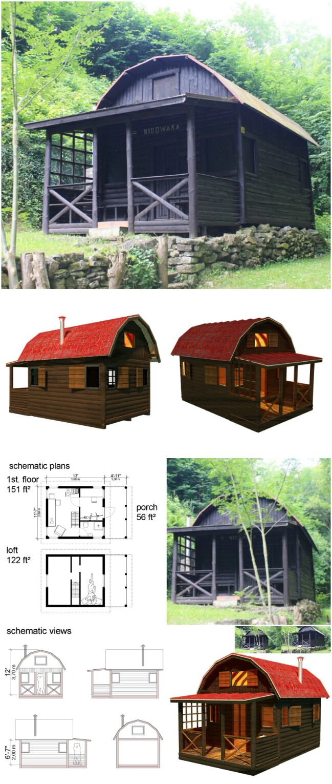 Jane tiny cottage plans
