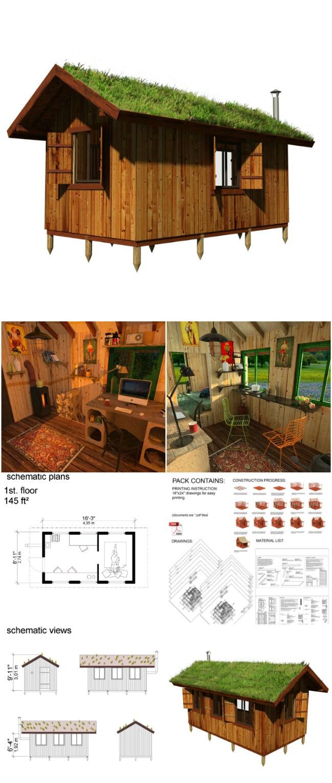 Sally tiny cabin plans