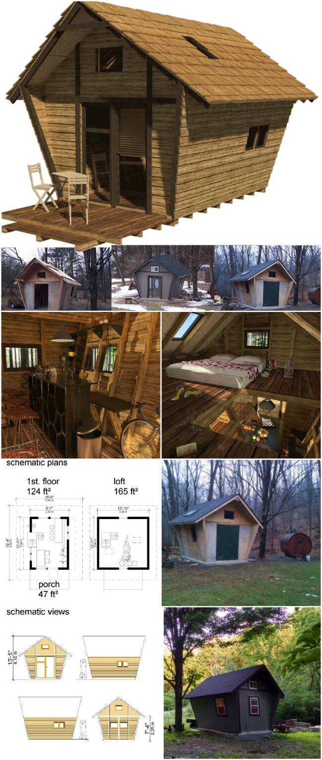 Ann tiny cabin plans