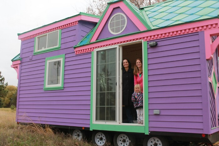 Wow This May Be The Most Colorful Tiny House I Have Ever