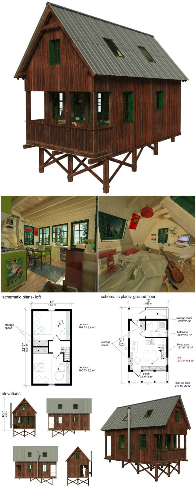 Ginger tiny house plans