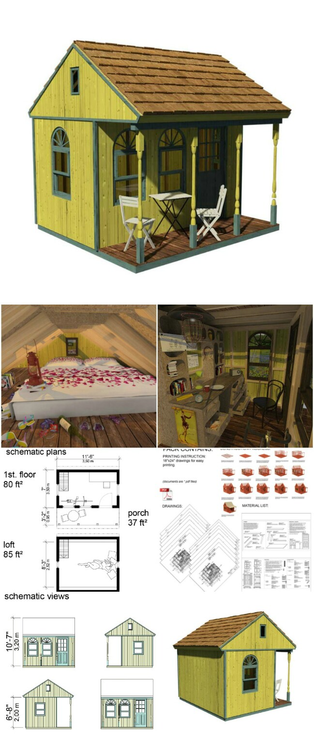 Lynda tiny cabin plans