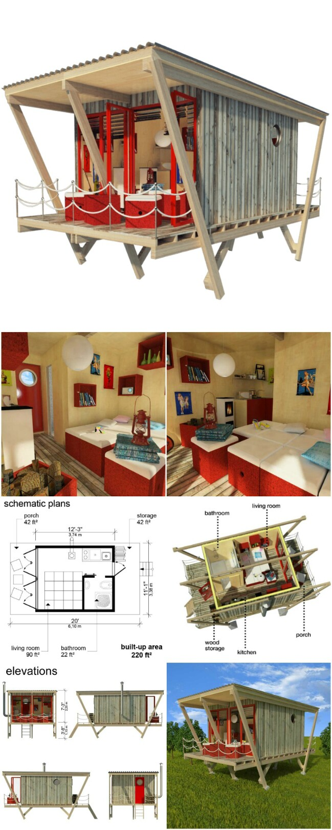 25 plans to build your own fully customized tiny house on for Diy small house plans