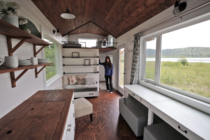 This 24 Foot Tiny House Is Just Gorgeous … And The Plans Are Available For Free!
