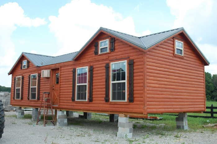 7 Beautiful Modular Log Cabins From Amish Log Company