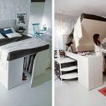Italian Designers Invent The Most Creative Bed Storage Unit.