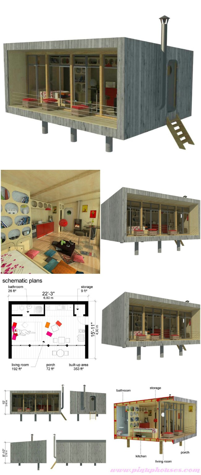 Sheena tiny house plans