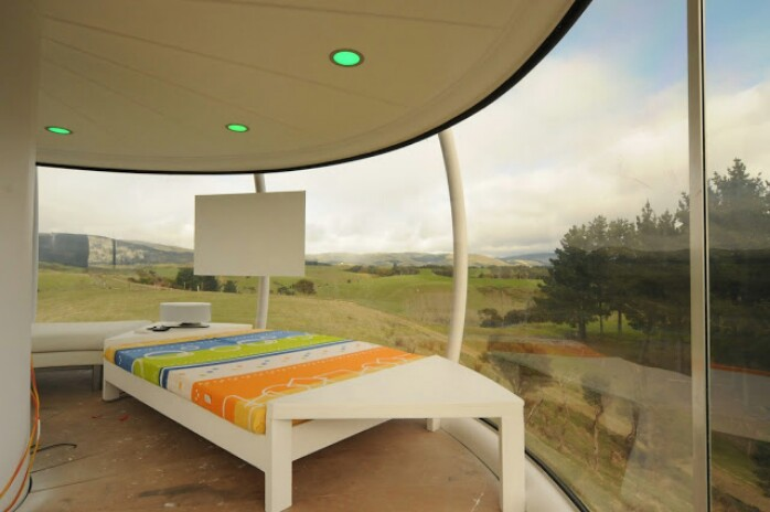 This Guy Actually Built A Jetsons House … I am in AWE