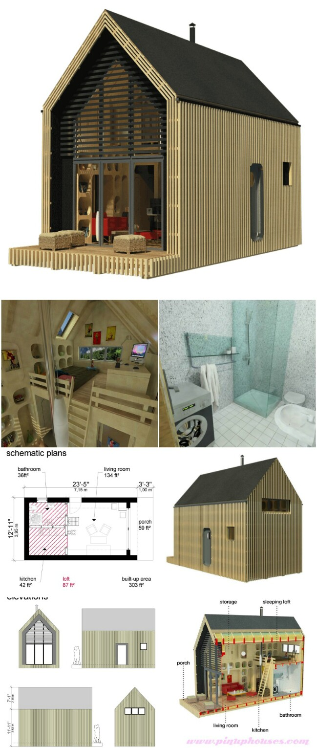 Tiny Home Designs: 25 Plans To Build Your Own Fully Customized Tiny House On
