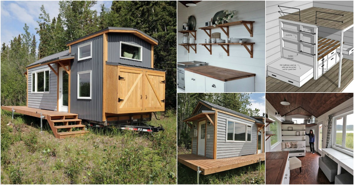 this 24 foot tiny house is just gorgeous  u2026 and the plans
