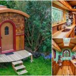 Lina Menard's Lucky Penny Tiny House Looks Like a Fairytale Caravan!