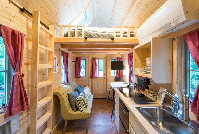 Tumbleweed Tiny House Company Build It: Elm By Tumbleweed Tiny Houses Will Seduce You With Its