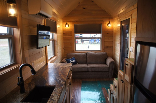 The Prairie Schooner Tiny House Is Your Personal Covered Wagon