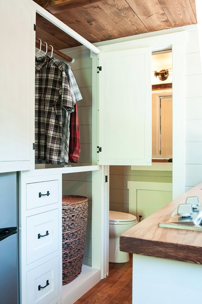 Timbercraft's Tiny House Features All the Comforts Of the Suburbs … On Wheels!