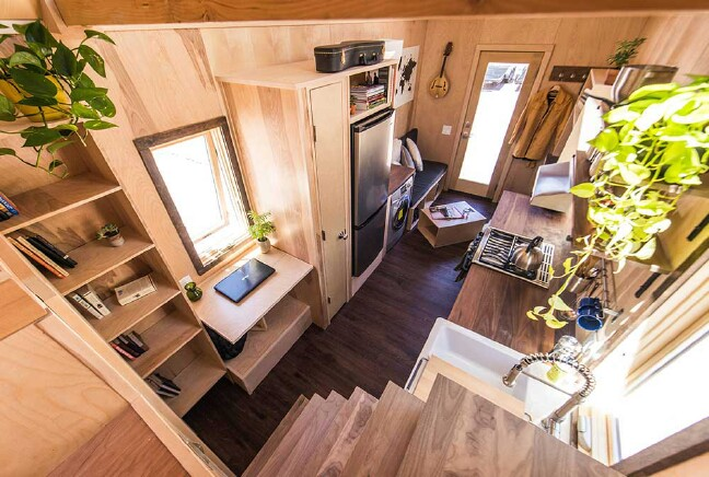 Farmhouse Traditional With Modern Amenities…This Tiny House Has it All