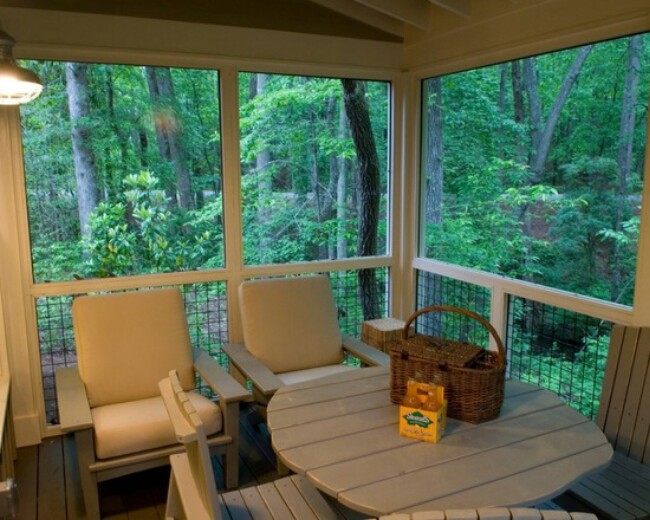 Camp Callaway Cottage is 1091 Sq. Ft. Pure Cozyness {Tiny House Tour 15 Photos+Video}