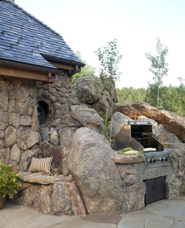 Prepare to fall in love with this small mountain cottage for Tiny stone cottage