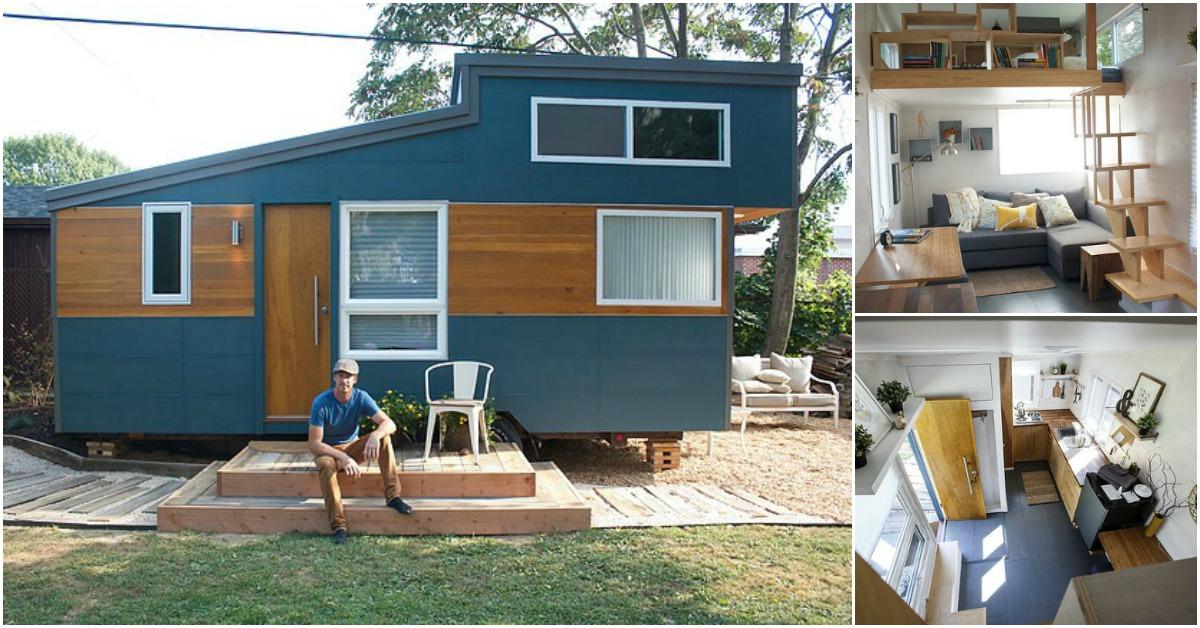 Tiny Home Designs: Alpha By Liberation Tiny Homes Is A Dream Come True {Tiny