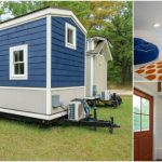Bold Contrast and Vivid Colors Make This Tiny House an Oasis of Style
