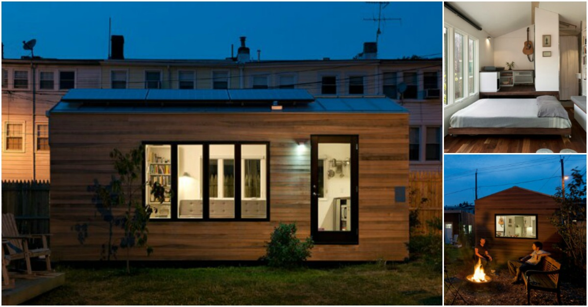This Tiny House is Gorgeous On the Outside … But When I Saw the Spacious Modern Interior? WOW.