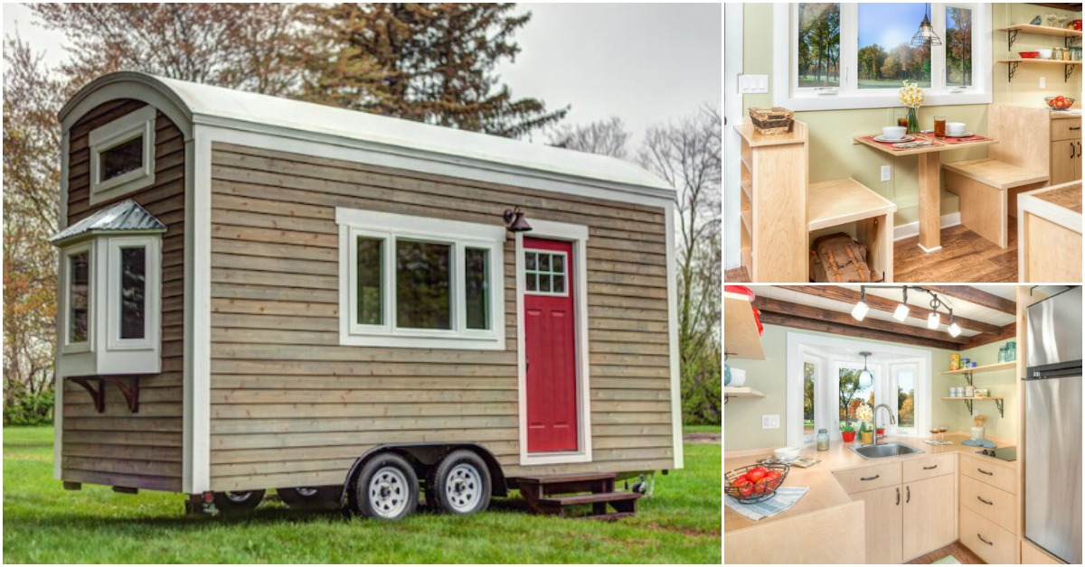 wow i can t believe this tiny house was built by college students tiny houses. Black Bedroom Furniture Sets. Home Design Ideas