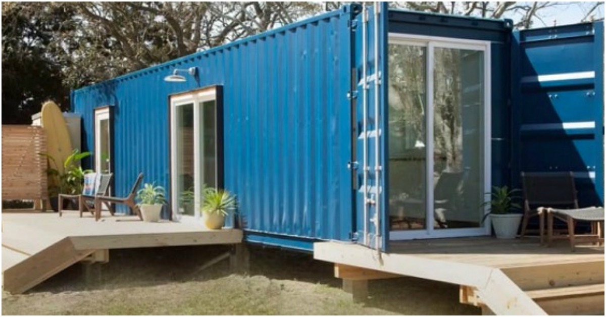From Shipping Container To Vacation Hot Spot Vacation