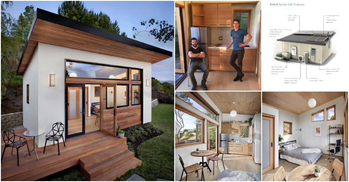 these innovative tiny homes take sustainable design to the next level tiny houses. Black Bedroom Furniture Sets. Home Design Ideas