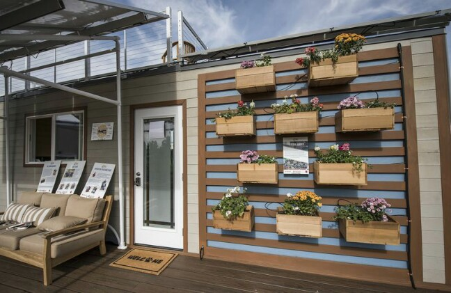 House Tours of the Eco-Friendly Homes that Won SMUD's Tiny House Competition