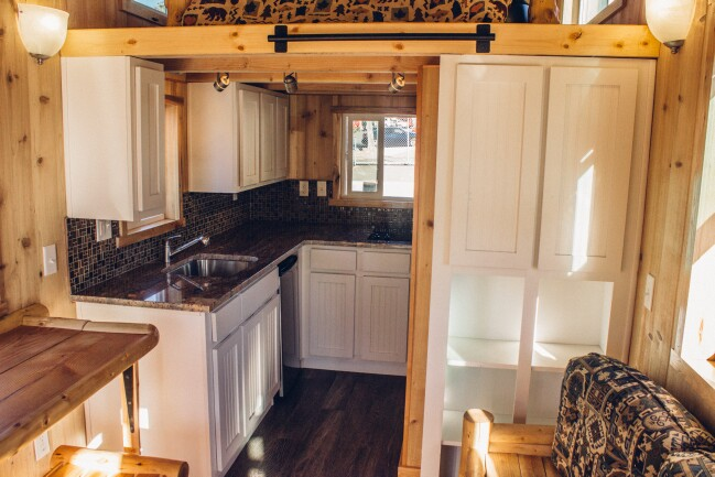 Tiny House Meets Rustic Charm In This Cozy Home by Tiny Pacific Houses