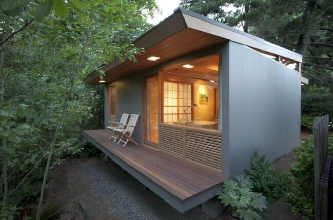 Tiny Teahouse by Pietro Belluschi Has Famous Roots and Tons of Style!