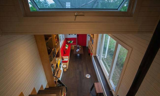 Wow! This Canadian Tiny House Has Its Own Drawbridge