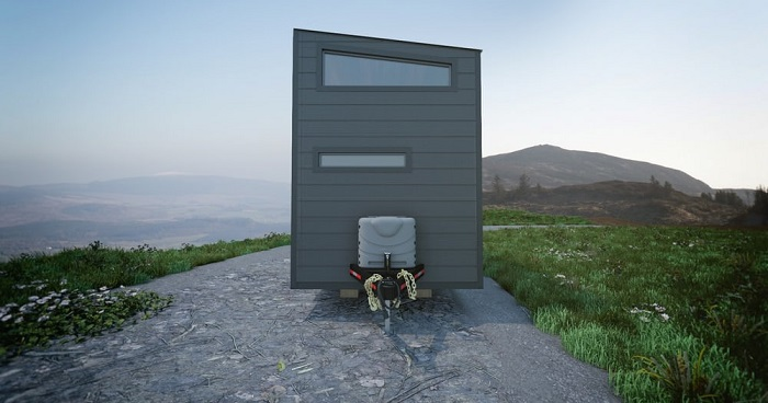 Push a Button and This Innovative Tiny House Almost Doubles in Size!