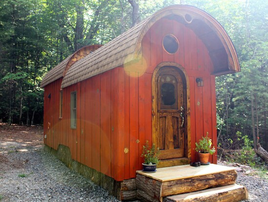 Want a Custom Tiny House Take a Look at The Old Timey by The