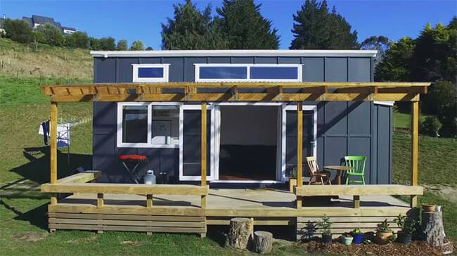 Adventurous Tiny House on Wheels Built By a Young New Zealand Couple