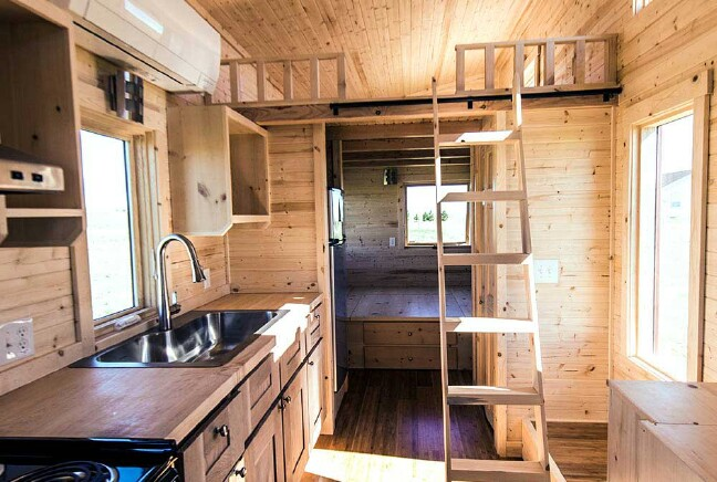Tiny Home Designs: The Roanoke From Tumbleweed Tiny Houses Is A Rustic Dream