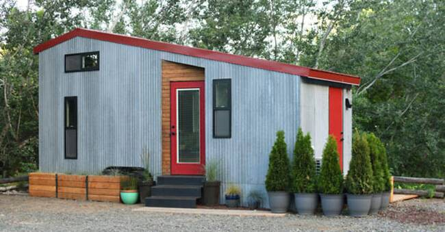 This Adventurous Couple Starts a New Journey in Their 204 Sq. Ft. Teeny Tiny House