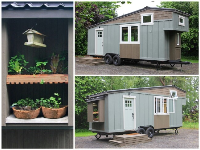 Tiny house movement meet handcrafted movement and for Farmhouse mobile home