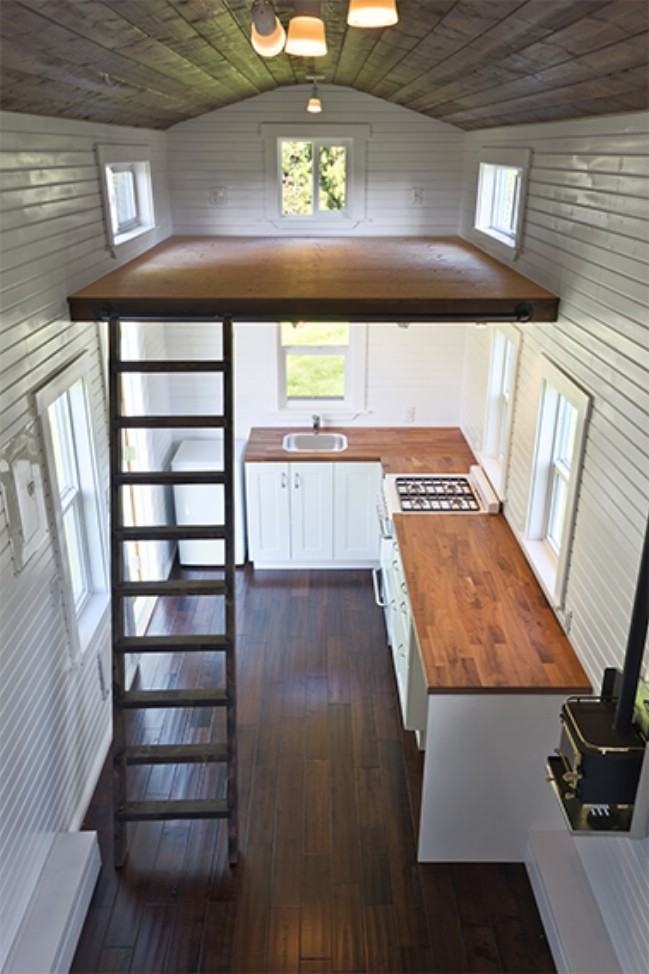 Loft by mint tiny house company will have you feeling high for House windows company