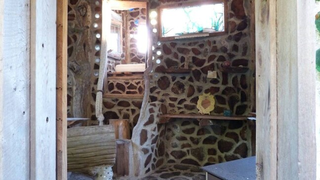 This Magical Tiny Home Was Constructed From Bottles, Bones, and Driftwood