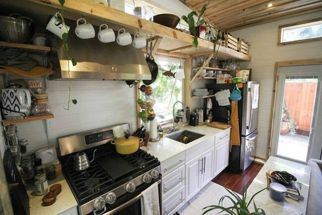 Tiny Home Designs: Young Couple Lives In A Baby Friendly 400 Square Foot Tiny
