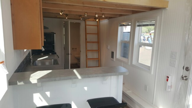 Tiny House by Tiny Pacific Houses has a Super-Sized Master Loft