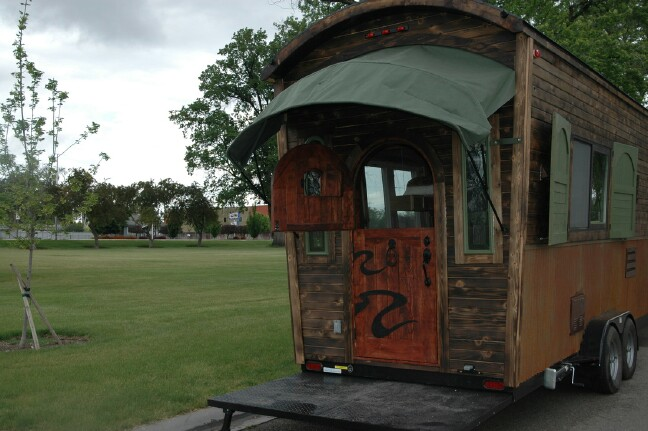 One of the Most Unique Tiny Homes We've Seen! Unbelievably Creative Design! {30 Photos}