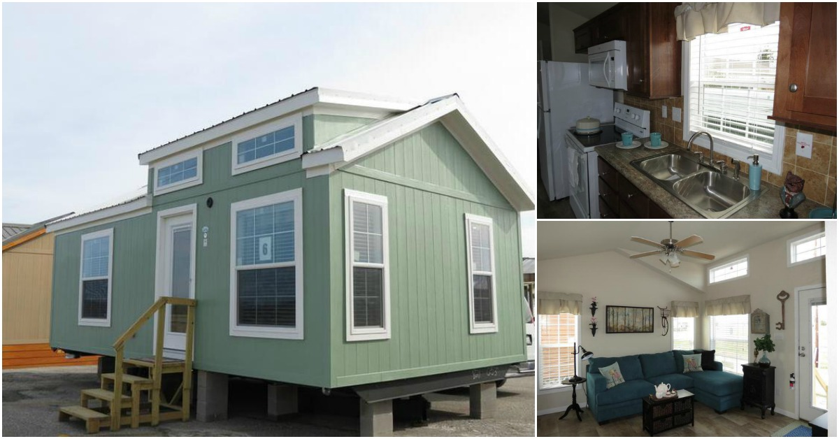 This 399 Square Feet Tiny Home Will Have You Drooling! {Free Floor Plan}