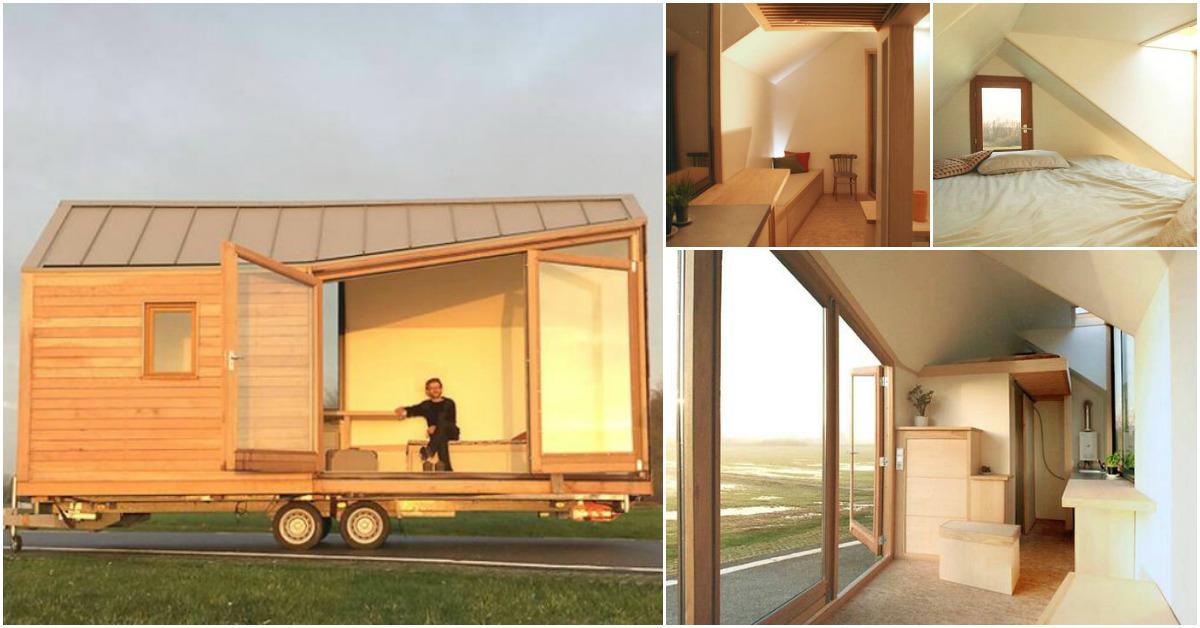 Dutch tiny house company woonpioniers takes minimalist for Tiny house minimalist design