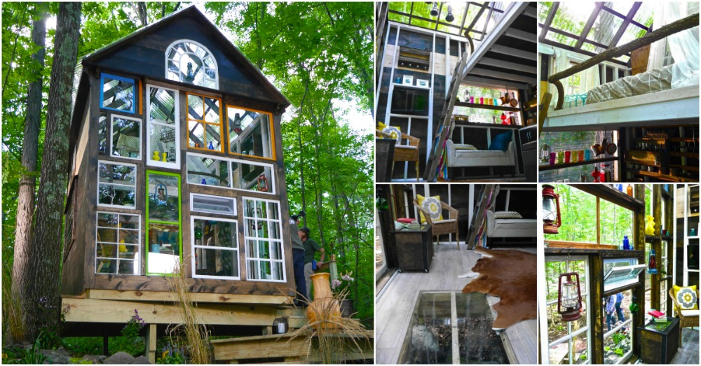 Glass House Is An Off Grid 140 Sq Ft Cozy Retreat By